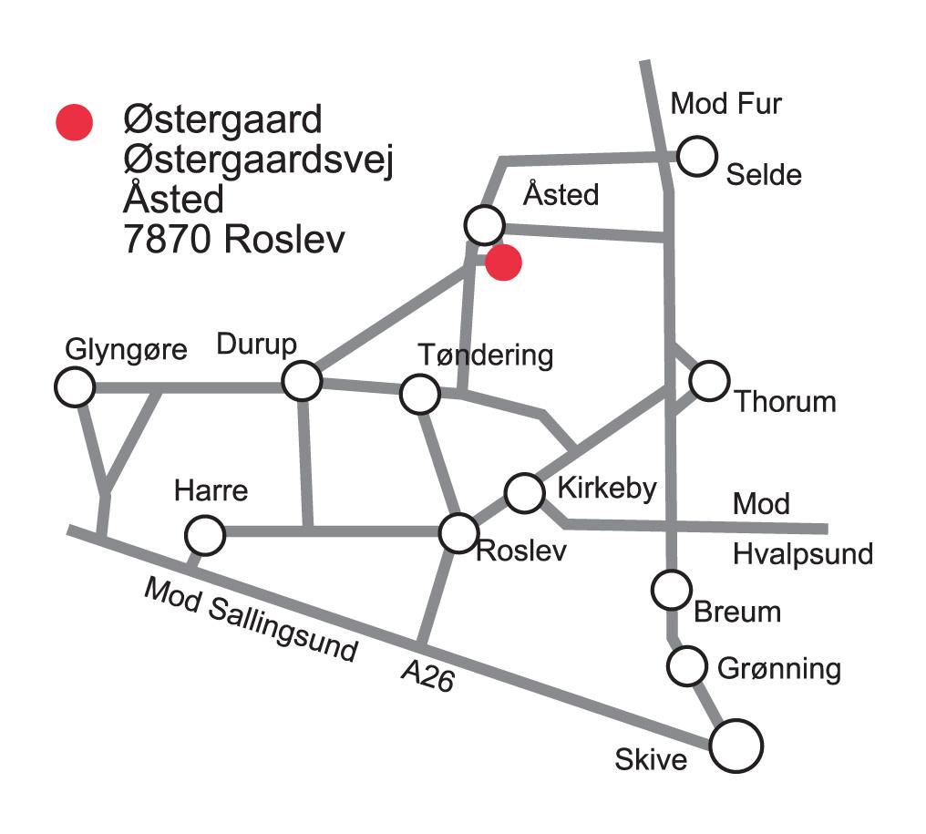 Find Vej Middelalderborgen Ostergaard